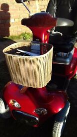 shoprider cordoba 889xlsbn this scooter is like brand new no marks on it
