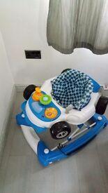 Racing car Baby walker and rocker