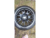 """BBS alloys and tyres 18"""""""