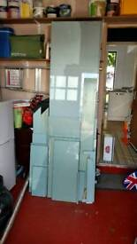 Kitchen side panels and doors