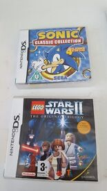 4 nintendo ds games