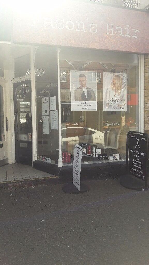 Mason's Hair Westbourne Hair Stylist required self employed Westbourne