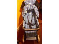 Britax Italian collection (blue) pram/pushchair in very good condition
