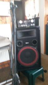 disco/karaoke system