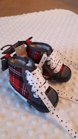 Next festive baby shoes 0-3 months