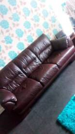 FREE BROWN 3 SEATER
