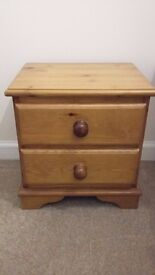 Small Pine Chest of Drawers - (2 Drawer)