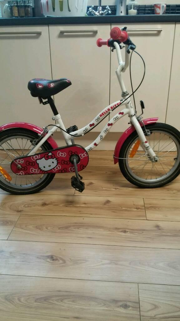 "Hello Kitty 16"" girl's bicycle"