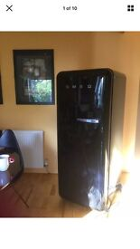 Smeg fridge for sale, the fridge is in excellent condition and it's also fully working.