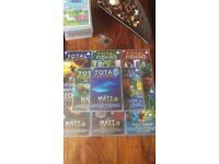 Matt hayes total fishing dvds x9