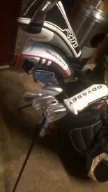 Full set of nike taylormade callaway golf clubs