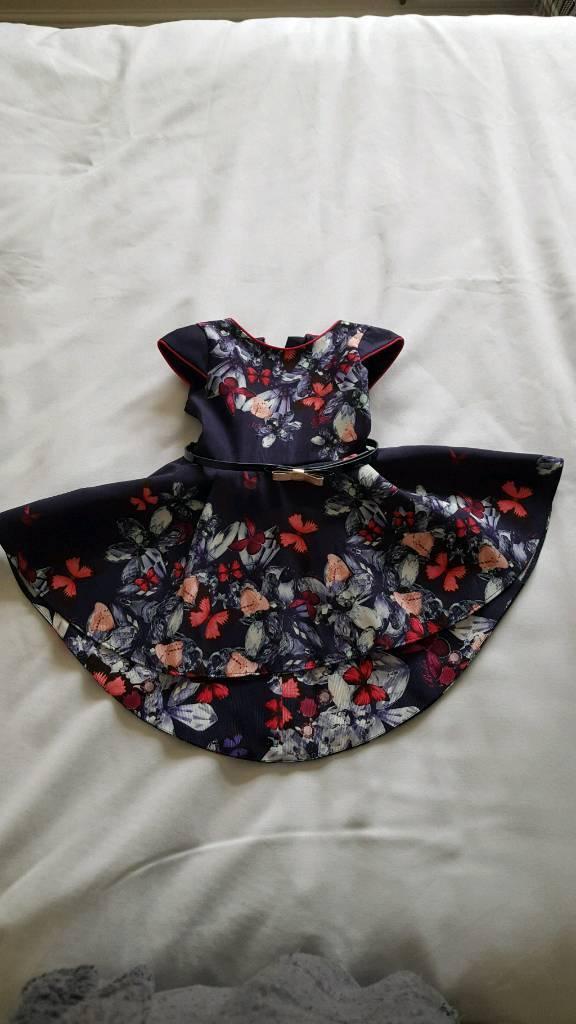 Stunning baby ted baker dress 12-18m
