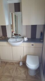 Sink and tap with popup waste for cabinet top - perfect for washing hands, maybe more...