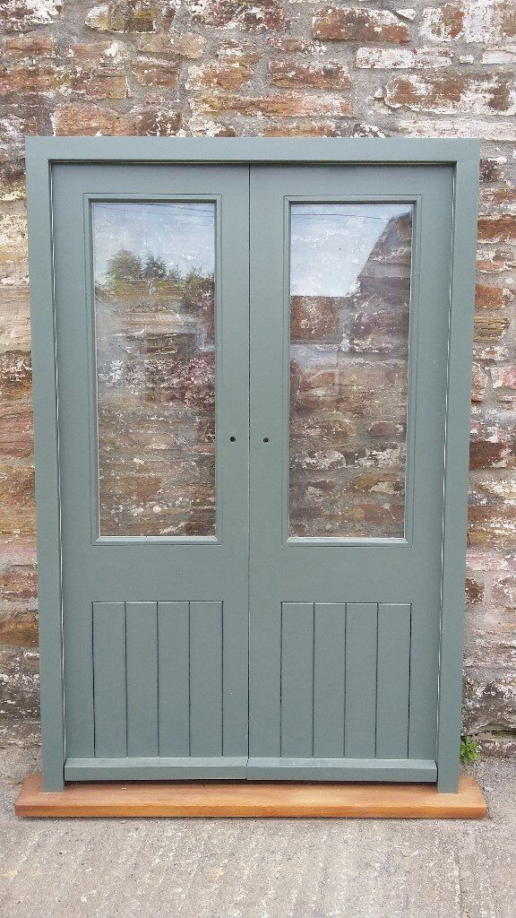 Brand New Hardwood Pair Of French Doors And Frame Double Glazed