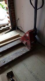 Pumptruck/ pallet truck
