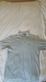 Ralph Lauren Polo Shirt Grey Size L
