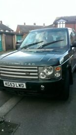2003 Land Rover Range Rover 3.0 Td6 HSE SUV 5dr Diesel Automatic (299 g/km, ) Automatic
