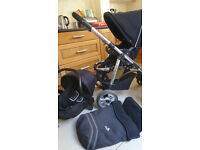 Babylo 2 in 1 travel system pushchair and carseat