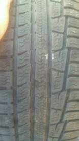 2x nokian 235 55 17 winter tyres. BMW audi