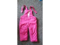 Girls winter trousers PEPPA pig