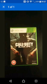 Call of Duty COD Xbox 360 Game With Box & Instructions