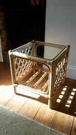 Small wicker side table FREE DELIVERY