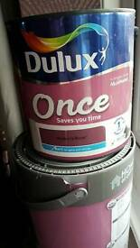 Dulux once mulberry burst