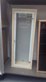 Small Glass Fronted Display Case