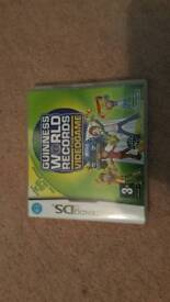 Guinness World Recod DS game