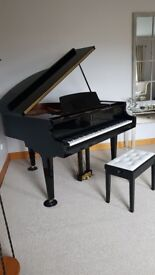 Baby Grand Piano. Showroom condition. Genuine reason for selling .