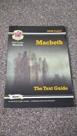 GCSE 9-1 CGP MACBETH REVISION GUIDE LITERATURE *NEW*