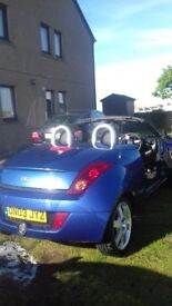 ford streetka....good runner ,,tyres good ,,,mot end of november ,,leather seats ,,cd player ,,nippy