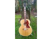 "GIBSON SJ 200 - J200 Historic Collection ""MASTER BUILT"" VGC"