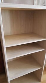Bookcase, nearly new 51.5 in x 23.5 x 15.5