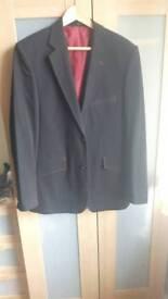 Peter Werth Mens Black Jacket Blazer Medium