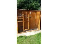 Self Contained Aviary with extras