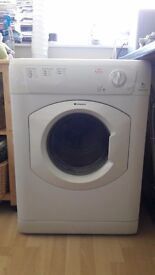 Hotpoint Tumble Dryer TVM570 Front Loading, Vented, White