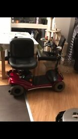 Reliable portable Shoprider Paris GK9 21 stone Capacity Mobility Scooter Great Batteries Only £600
