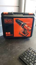 Black & decker lithium 18v cordless drill