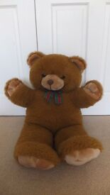 Large brown teddy bear - soft and cuddly!