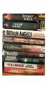 Richard Montanari ~ Byrne & Bolzano Series ~ 9 Books