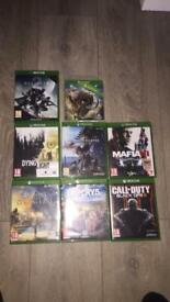 Xbox one games 70£ for all