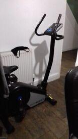 Exercise bike rodger black fitness