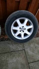 Mercedes ML 270 wheels