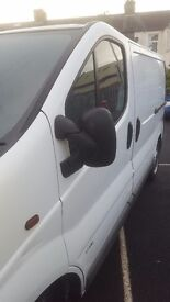 Van vauxhall vivaro good condition nice drive till mot nice to drive