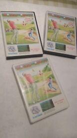 BBC Basic computer golf game