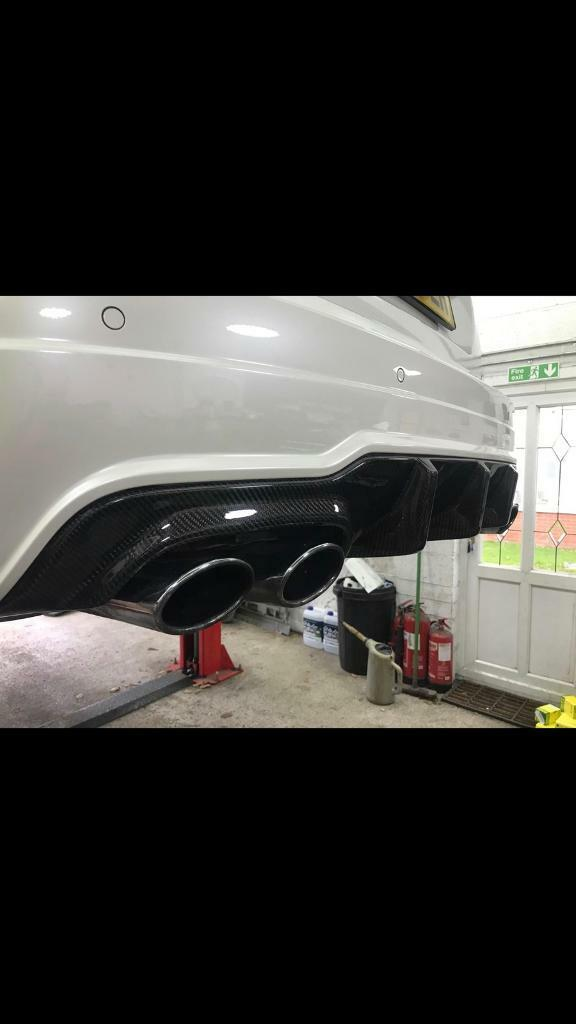 Mercedes C63 W204 Carbon Fibre Diffuser 2011-2014 facelift coupe saloon amg  | in Ilford, London | Gumtree