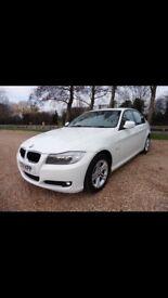 2011 White BMW 318i ES 2L petrol 3 series