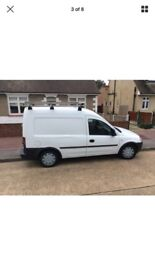 Clean and tidy van good value for money