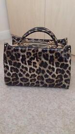 Animal Print Handbag